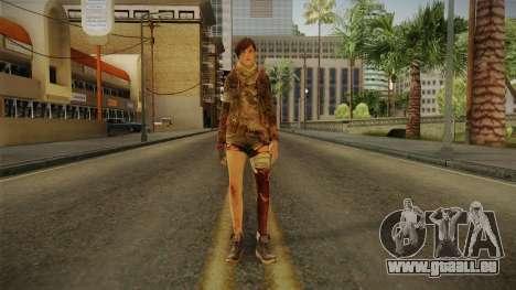 RE Revelations 2 - Moira Burton Survivor pour GTA San Andreas deuxième écran