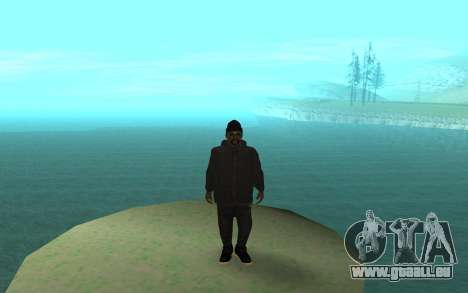 Winter Gangster für GTA San Andreas