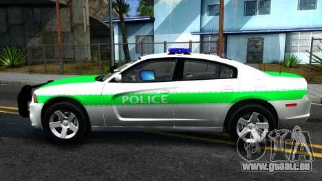 Dodge Charger German Police 2013 pour GTA San Andreas laissé vue