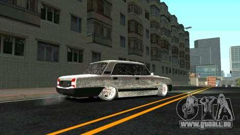 2107 Classique 2 Winter edition pour GTA San Andreas vue intérieure