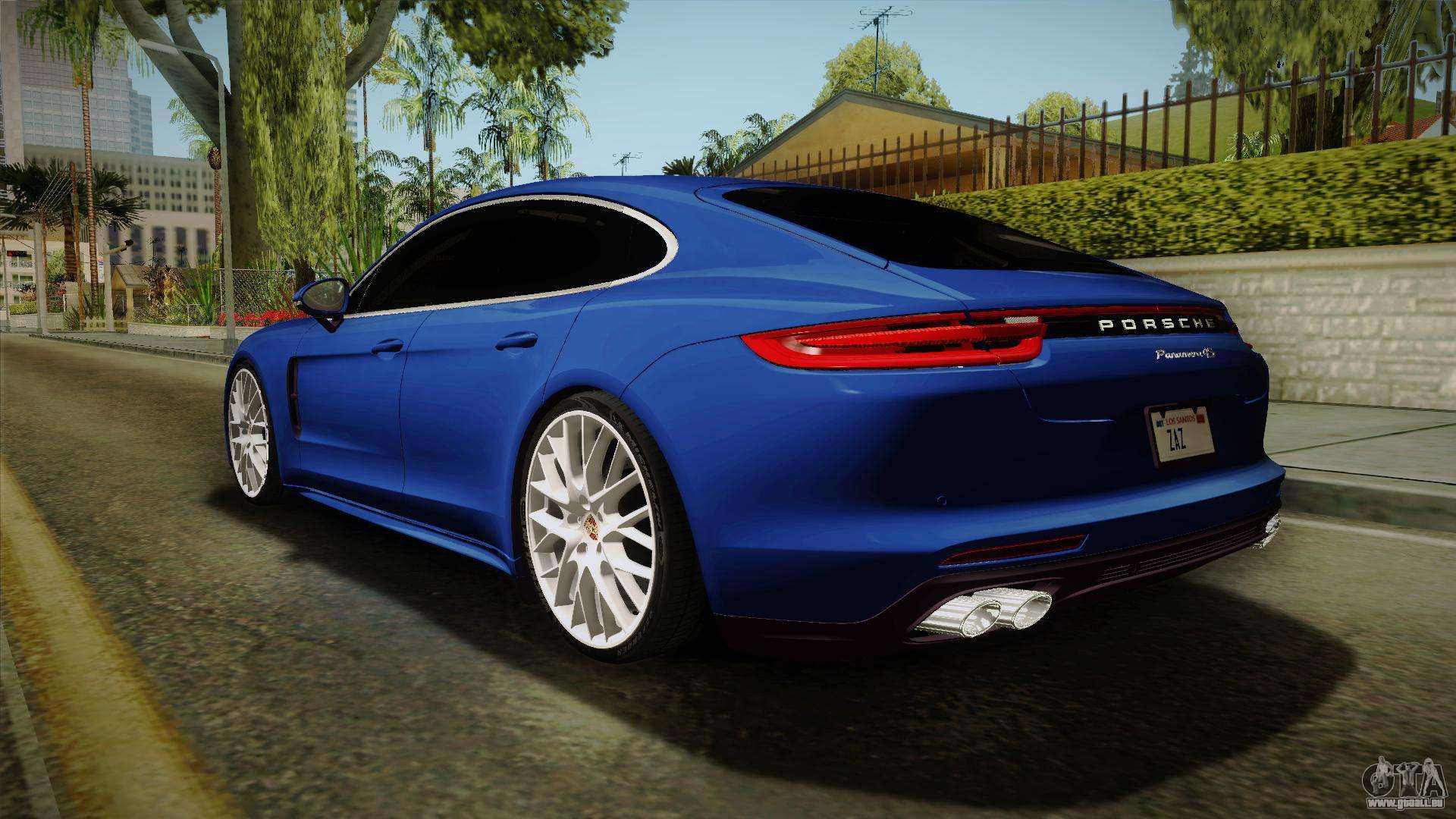 porsche panamera 4s 2017 v2 0 pour gta san andreas. Black Bedroom Furniture Sets. Home Design Ideas