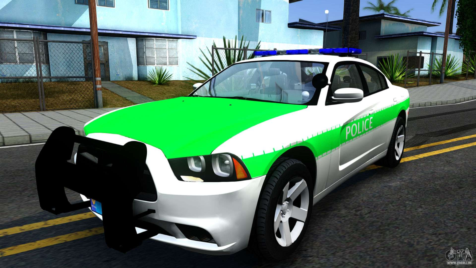 dodge charger german police 2013 pour gta san andreas. Black Bedroom Furniture Sets. Home Design Ideas