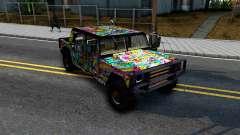 Sticker Patriot für GTA San Andreas