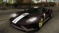 Ford GT 2017 Heritage Edition pour GTA San Andreas