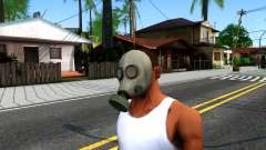 Gas Mask From Call of Duty Modern Warfare 2 pour GTA San Andreas