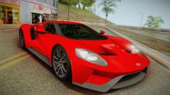 Ford GT 2017 No Stripe für GTA San Andreas