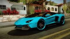 Lamborghini Aventador Itasha Rias Gremory für GTA San Andreas