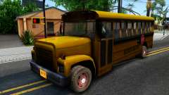 School Bus Driver Parallel Lines pour GTA San Andreas