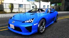 Lexus LFA pour GTA San Andreas