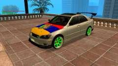 Toyota Altezza Armenian pour GTA San Andreas