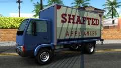 GTA IV Maibatsu Mule with GTA SA Ads pour GTA San Andreas
