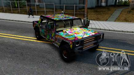 Sticker Patriot pour GTA San Andreas