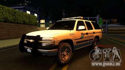 2004 Chevy Tahoe State Wildlife für GTA San Andreas
