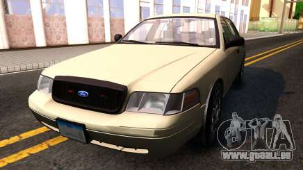 Ford Crown Victoria Unmarked 2009 für GTA San Andreas