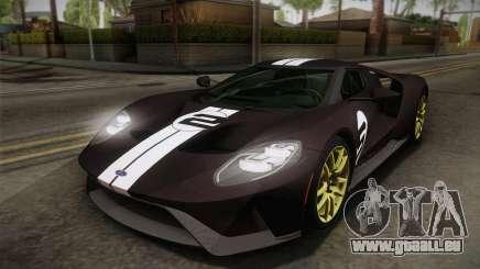 Ford GT 2017 Heritage Edition für GTA San Andreas