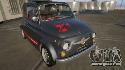Fiat Abarth 595ss Street ver pour GTA 5