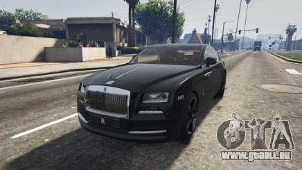 Rolls-Royce Wraith 2015 für GTA 5