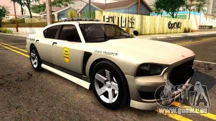 Bravado Buffalo 2012 Iowa State Patrol pour GTA San Andreas