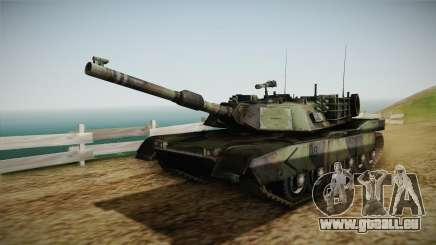 Abrams Tank Woolant Camo für GTA San Andreas