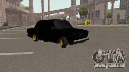 VAZ 2107 Black Jack für GTA San Andreas