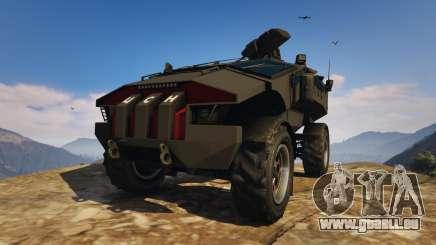 Punisher Black Armed Version für GTA 5