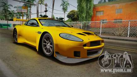 Aston Martin Racing DBRS9 GT3 2006 v1.0.6 Dirt für GTA San Andreas