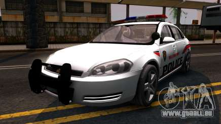 Chevy Impala Blueberry PD 2009 pour GTA San Andreas