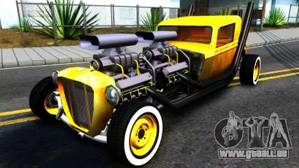 Hotknife Double V8 pour GTA San Andreas