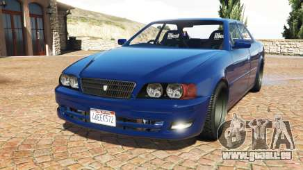 Toyota Chaser (JZX100) cambered v1.1 [add-on] für GTA 5