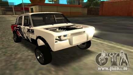 VAZ 2106 LA DÉRIVE pour GTA San Andreas