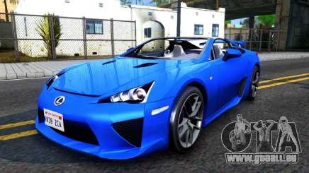 Lexus LFA für GTA San Andreas