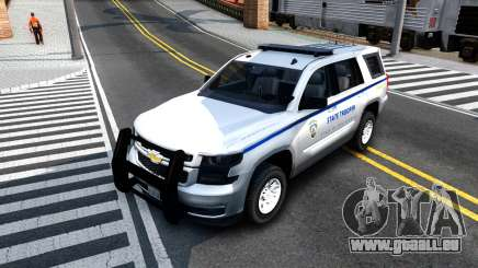 2015 Chevy Tahoe San Andreas State Trooper pour GTA San Andreas