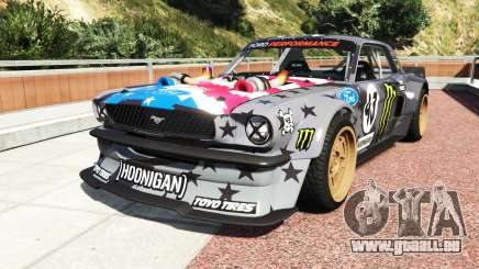 Ford Mustang 1965 Hoonicorn v1.3 drift [add-on] für GTA 5