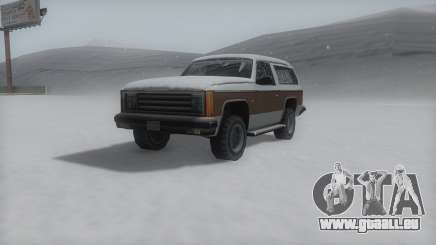 Rancher Winter IVF für GTA San Andreas