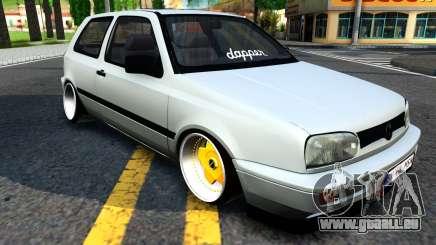 Volkswagen Golf 3 Low pour GTA San Andreas
