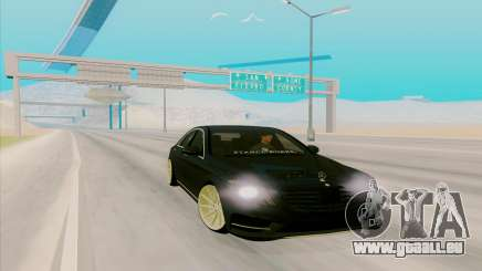 Mercedes Benz S63 für GTA San Andreas