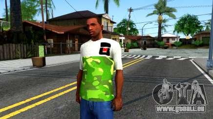 Design Camouflage T-Shirt für GTA San Andreas