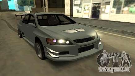 Mitsubishi Lancer Evo9 pour GTA San Andreas
