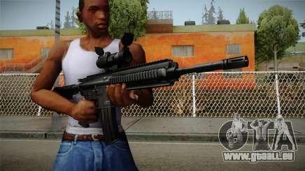 HK416 v2 für GTA San Andreas