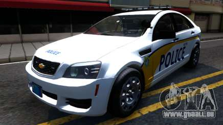 Chevy Caprice Metro Police 2013 pour GTA San Andreas