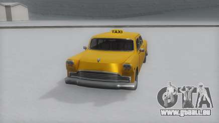 Cabbie Winter IVF pour GTA San Andreas
