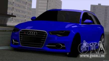 AUDI RS6 2014 für GTA San Andreas