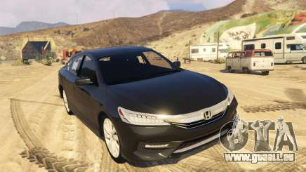 Honda Accord 2017 pour GTA 5
