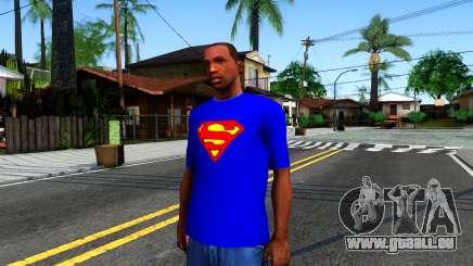T-Shirt SuperMan für GTA San Andreas
