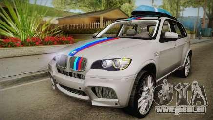 BMW X5M 2012 Special für GTA San Andreas