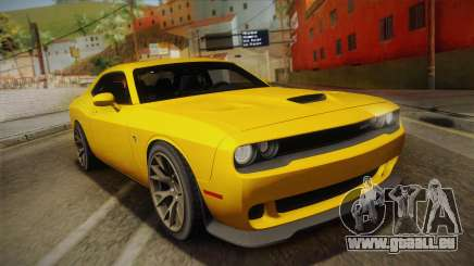 Dodge Challenger Hellcat 2015 pour GTA San Andreas