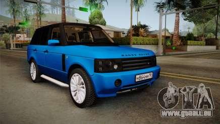 Range Rover 2008 pour GTA San Andreas