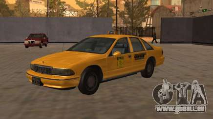 Chevrolet Caprice Taxi Kaufman pour GTA San Andreas
