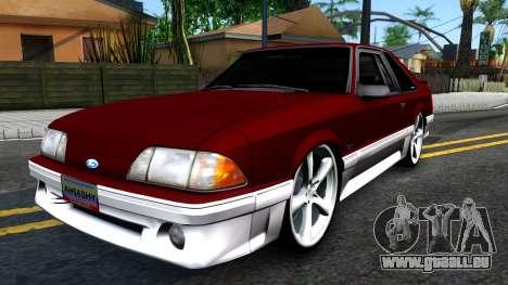 Ford Mustang 1993 für GTA San Andreas