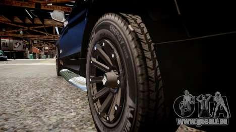 Audi Q7 CTI für GTA 4 Rückansicht